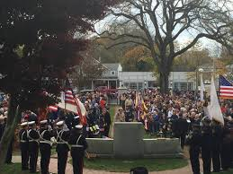 falmouth holds 60th veterans day ceremony