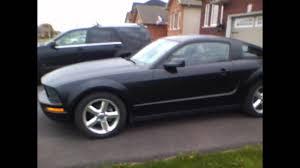 2008 Black Mustang Gt Flat Black V6 Mustang Youtube