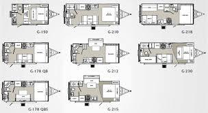 c trailer floor plans micro floor plans palomino gazelle micro lite travel trailer
