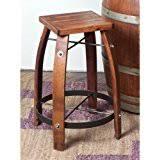 Wine Barrel Bar Table Amazon Com Recycled Barrel Pub Table 17438 Kitchen U0026 Dining