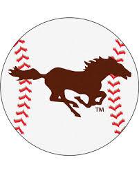 Baseball Area Rug New Savings On Southwest Minnesota State Mustangs Grand Slam
