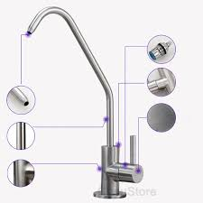 Ebay Kitchen Sinks Stainless Steel by 304 Stainless Steel Kitchen Sink Pure Water Faucet Filter Drinking