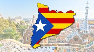 catalonia flag map speed art youtube