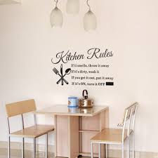 online get cheap kitchen room designer aliexpress com alibaba group stylish design kitchen rules english words notice room art decal diy decor home wall sticker removable