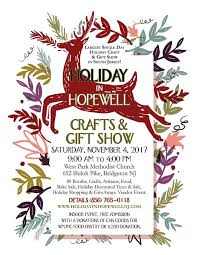 in hopewell crafts gift expo november 4 2017