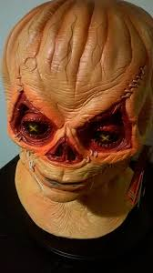 halloween skin mask official trick r treat sam burlap unmasked latex mask halloween