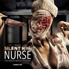 ellimacs sfx u2014 silent hill nurse reusable makeup mask