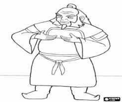 avatar airbender coloring pages printable games 2