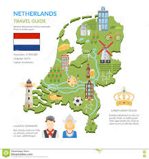 Map Of Holland Netherlands Map Stock Images Image 6299734