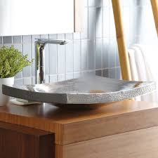 bathroom vessel sink ideas kohani curved copper vessel bathroom sink trails