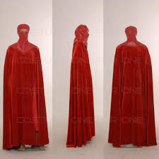 star wars costumes star wars red royal guard cosplay costume custom made ebay