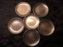 engraved dishes silver plated engraved church dishes israel 19th century catawiki