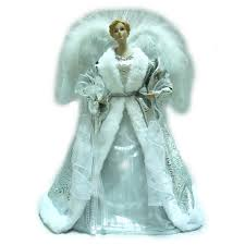 home accents holiday 18 in silver led fiber optic angel a 7070c