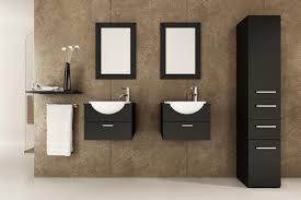 contemporary bathroom vanity ideas two tone modern floating bathroom vanity ideas square wall