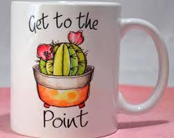 Funny Cactus Mug Etsy