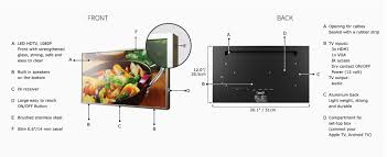 cabitv ct 100 22 u201d stainless steel under cabinet kitchen tv