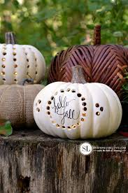 Easter Decorations Michaels by Drilled Craft Pumpkin Luminaries Michaelsmakers Bystephanielynn