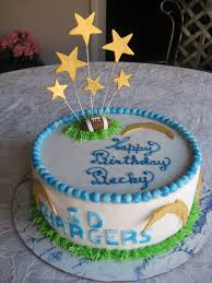 sugar chef san diego charger u0027s cake