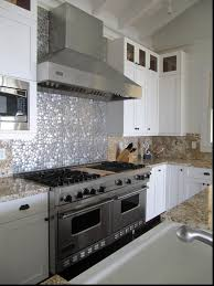 kitchen backsplash metal tiles magnificent ideas inspiration