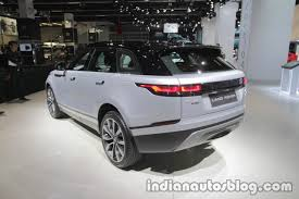 range rover velar dashboard range rover velar first edition dashboard at iaa 2017 indian