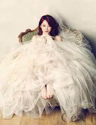 wedding dress korean 35 gorgeous photos of korean in wedding dresses