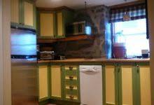 cuisine ikea chene bemerkenswert peindre armoire de cuisine en bois m lamine