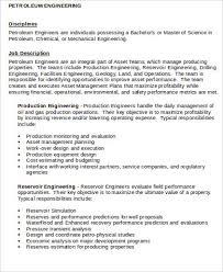 Production Engineer Resume Pdf Mechanical Engineering Job Description Hvac Mechanical Engineer