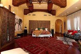 bedroom interesting moroccan style bedroom theme using red