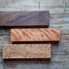 Kitchen Knives Holder Kitchen Knife Holder Birdseye Maple Cattails Woodwork