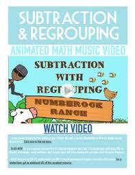 25 melhores ideias de subtraction regrouping no pinterest valor