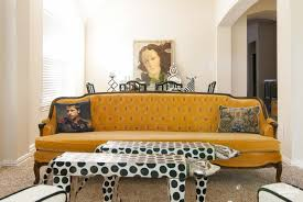 Antique Tufted Sofa by Hello Yellow Library Updates The Gathered Home