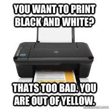 College Printer Meme - scumbag printer memes quickmeme