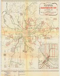 Map Of Atlanta Neighborhoods by A Peek Into Atlanta U0027s Streetcar History Gac