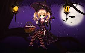 anime halloween backgrounds wallpapers anime hd girls high definition p 2560x1600