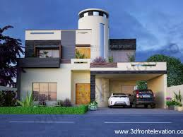 Modern Elevation 3d Front Elevation Com Nayyar Ali Dada Architect House Plan Layout