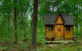 small house in spanish forest house trees nature landscape wallpaper 2560x1600 146927
