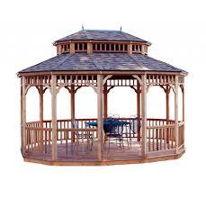review handy home products wood gazebo best hardtop gazebos
