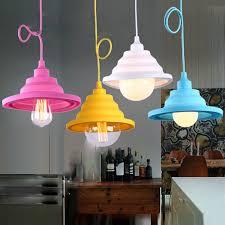 new modern pendant lights diy colored pendant lamps children