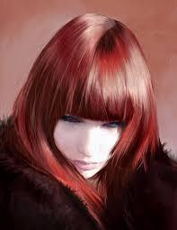 hair painting tutorial