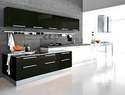 Modern Kitchen Cabinet Hardware Bathroom Good Looking Modern Black Kitchen Cabinets Two Tone