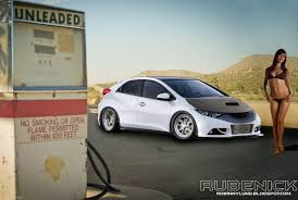 tuner honda civic virtual tuning honda civic 2012 eu version by rubenick on
