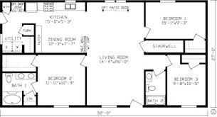 1500 square floor plans plans 1500 sq ft bungalow floor plans