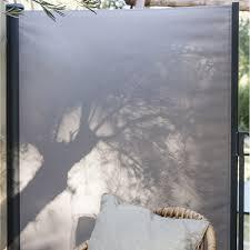 pare vent verre brise vent retractable pour terrasse wasuk
