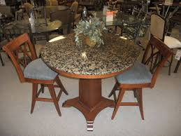 dining tables glamorous round granite dining table marvellous