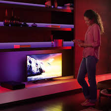 philips hue light strip behind tv philips hue lightstrip plus online kg electronic