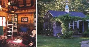 backyard cottage cool backyard cabin ideas garden decors