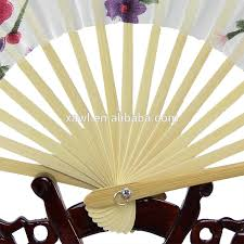silk fan gift giveaway ideas japanese fans bamboo silk fan gys5070