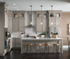 Just Cabinets And More by Ahh The Comfort Of A Warm Stone Gray Kitchen The Neutral Color