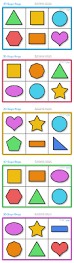 229 best shapes and colors formas y colores images on pinterest