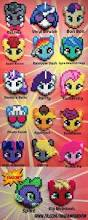 hama bead letter templates 87 best my little pony perler designs images on pinterest my little pony hair barrettes perler beads by madamfandom on etsy